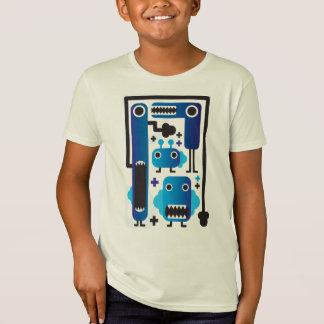 Chemise folle de garçon de créatures ! ! ! tee shirts