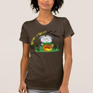 Chemise heureuse déplaisante de Jack-o'-lantern Tshirt