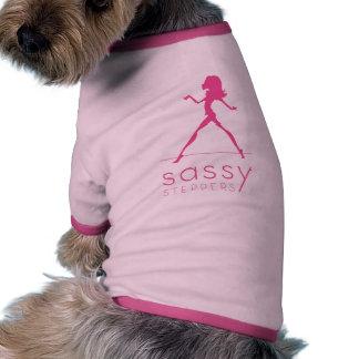 Chemise impertinente d'animal familier de Steppers Vêtements Pour Animaux Domestiques