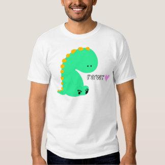 Chemise mignonne de dinosaure de RAWR Tshirt