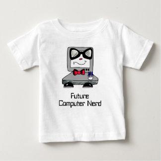 Chemise nerd de geek de futur ordinateur pour des t-shirt pour bébé