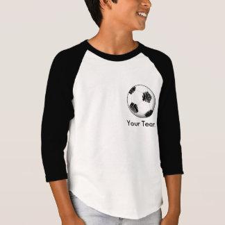 Chemise personnalisée du football t-shirt
