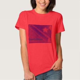 chemise pour la boulangerie tee-shirt
