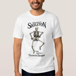 Chemise vintage squelettique de Halloween Tee-shirts
