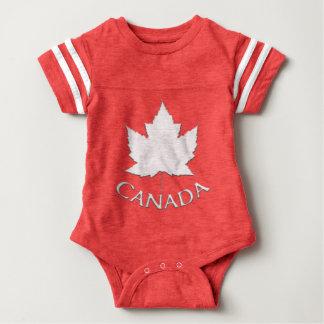 Chemises de bébé de souvenir du Canada de Body