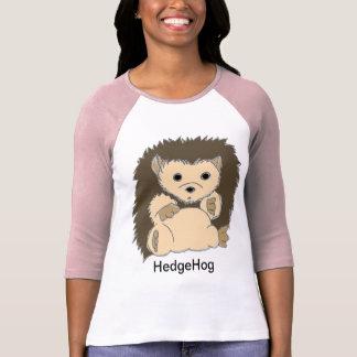 Chemises de hérisson avec votre propre texte custo t-shirt