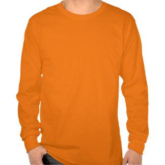 Chemises heureuses de partie de Halloween avec la  T-shirt