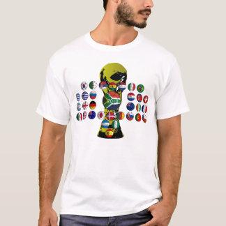 chemisette mondiale 2010 t-shirt