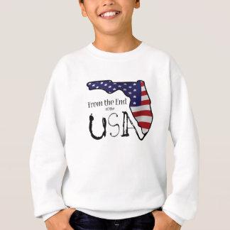 Chemisier avec de la fin du logo des Etats-Unis Tee Shirt