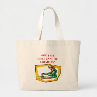 chemist chemistry large tote bag