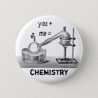Chemistry 2 Inch Round Button