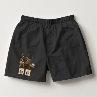 Chemistry bear discovered beer boxers