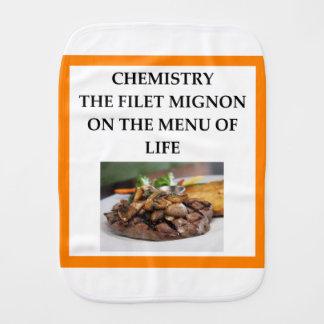 CHEMISTRY BURP CLOTH