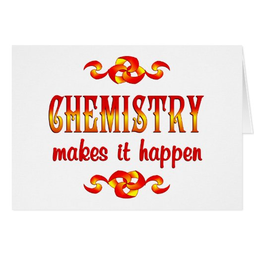 CHEMISTRY CARDS
