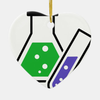 Chemistry Ceramic Ornament