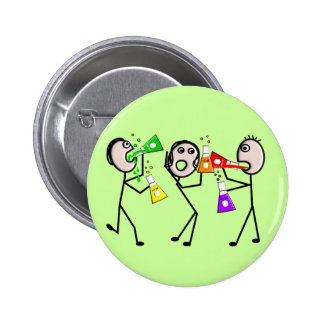 Chemistry/Chemists Stick People Gifts 2 Inch Round Button
