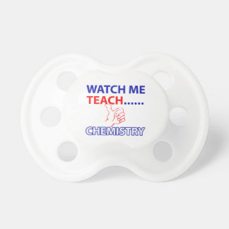 CHEMISTRY design Pacifier