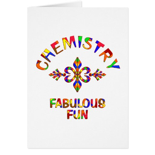 Chemistry Fabulous Fun Cards