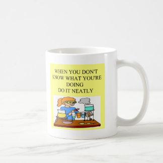 chemistry form over substance. coffee mug