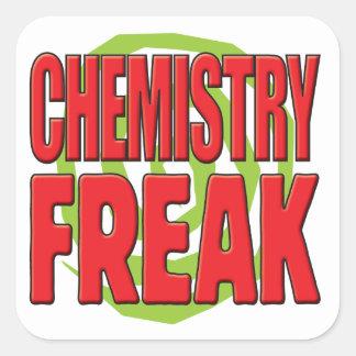 Chemistry Freak R Square Sticker