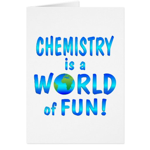 Chemistry Fun Greeting Cards