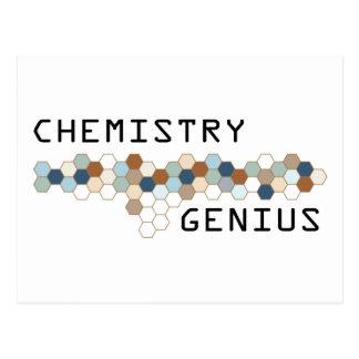 Chemistry Genius Post Card