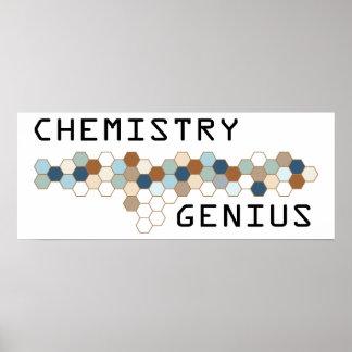 Chemistry Genius Posters