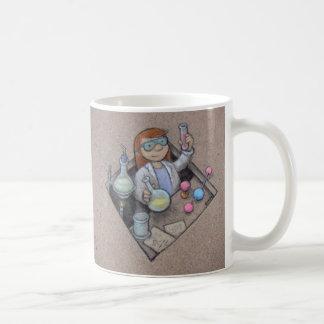 chemistry girl mug
