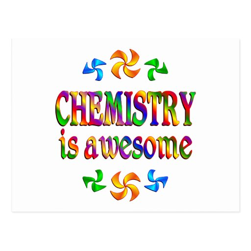 Chemistry is Awesome Post Cards