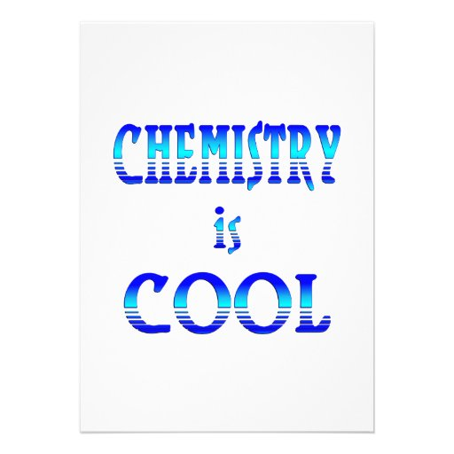 Chemistry is Cool Personalized Invites
