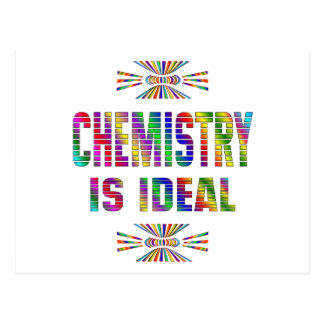 Chemistry is Ideal Postcard