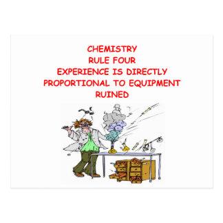 chemistry joke postcard