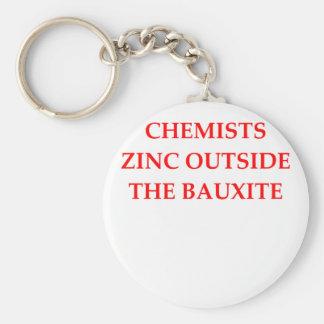chemistry keychain
