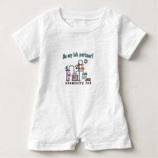Chemistry lab baby romper