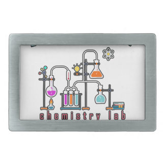Chemistry lab belt buckle