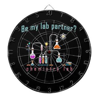 Chemistry lab dartboard