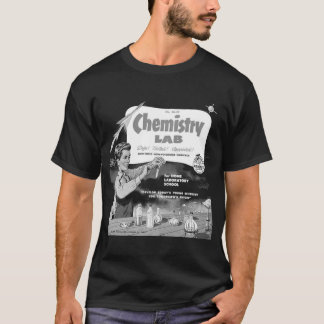Chemistry Lab for Boys Vintage Ad T-Shirt