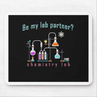 Chemistry lab mouse pad