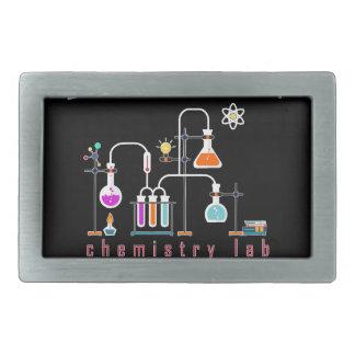 Chemistry lab rectangular belt buckles