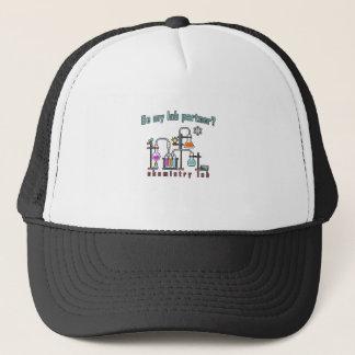 Chemistry lab trucker hat