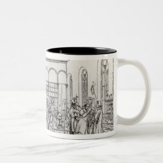 Chemistry laboratory of Baron Justus von Liebig Two-Tone Coffee Mug