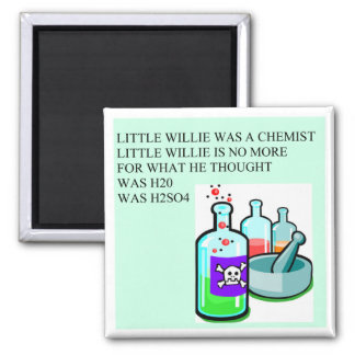 chemistry little willie rhyme magnet