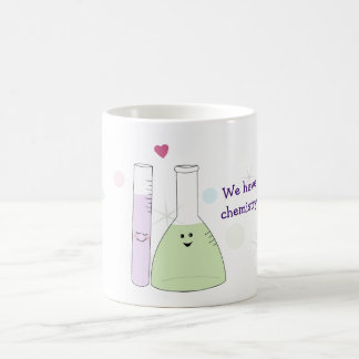Chemistry Love Basic White Mug