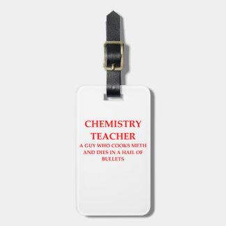 CHEMISTRY LUGGAGE TAG