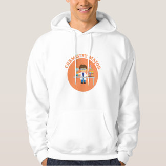 Chemistry Major Orange Scientist Hoodie