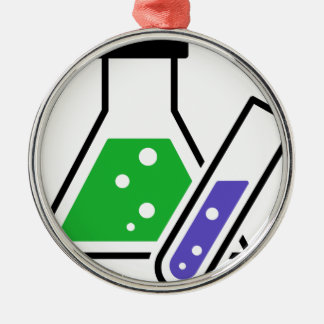 Chemistry Metal Ornament