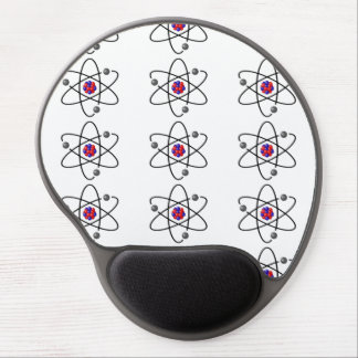 chemistry, nucleus, atomic. big-bang gel mouse pad