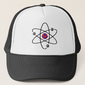 chemistry, nucleus. big-bang. trucker hat