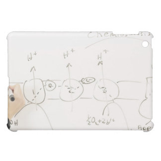 Chemistry on dry-erase board iPad mini cover