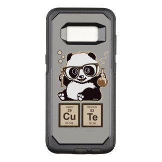 Chemistry panda discovered cute OtterBox commuter samsung galaxy s8 case
